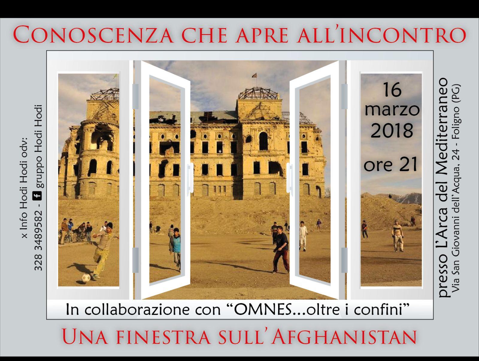 Foligno all 39 arca del mediterraneo si apre una finestra sull 39 afghanistan rgunotizie - Finestra che si apre ...
